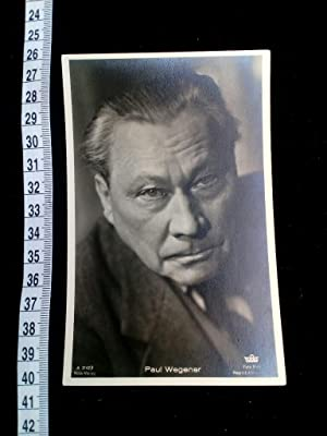 Original Foto-Postkarte. original picture postcard of the famous movie and stage actor. Director ...