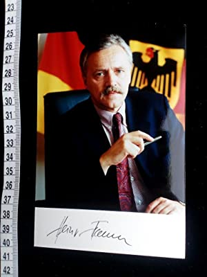 handsigniertes Foto autographed original photo of the famous german politician.
