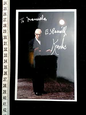 Original-Foto handsigniert. original hand signed photo of the famous US magician and mentalist.
