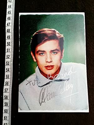 SEHR FRÜHES und SELTENES handsigniertes Originalfoto. original hand signed photo of the young fre...