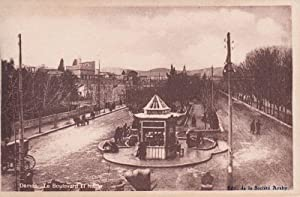 Damas. Le Boulevard El Nasser. (Damaskus).
