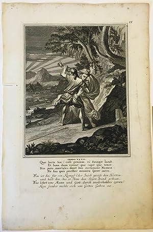 1. Moses 32 - Jakob kämpft mit