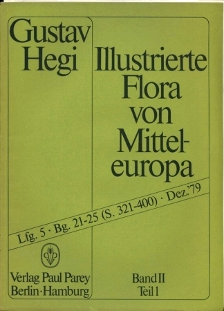 Illustrierte Flora von Mitteleuropa.Band II.Teil 1,Lieferung 5: Hegi,Gustav