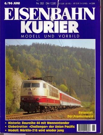 Eisenbahnkurier 30.Jahrgang Heft Nr. 6 / 1996