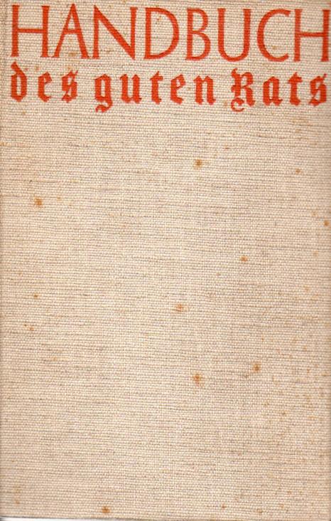Handbuch des guten Rats