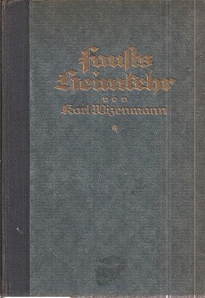 Fausts Heimkehr: Wizenmann,Karl