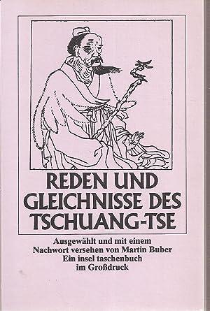 Reden und Gleichnisse des Tschuang-tse: Buber,Martin