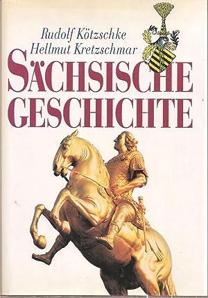 Sächsische Geschichte: Kötzschke,Rudolf+Hellmut Kretzschmar