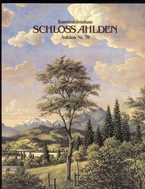 Auktion Nr. 70 / 1991 (Katalog): Kunstauktionshaus Schloss Ahlden