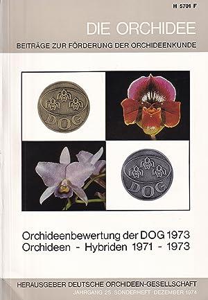 Orchideenbewertung der DOG 1973 / Orchideen -: Die Orchidee