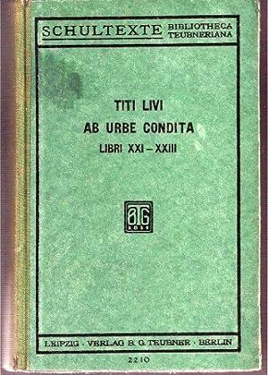 Titi Livi ab Urbe Condita Libri XXI-XXIII: Müller,M.