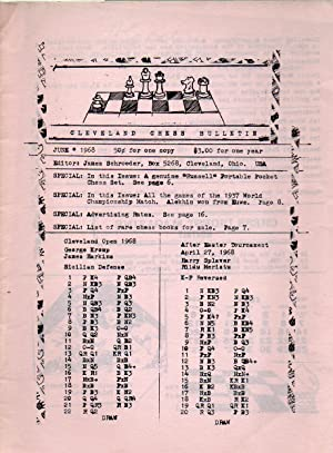 June 1968: Cleveland Chess Bulletin