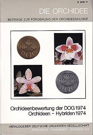 Orchideenbewertung der DOG 1974 / Orchideen -: Die Orchidee