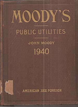 Moodys Manual of Investiments American and Foreign