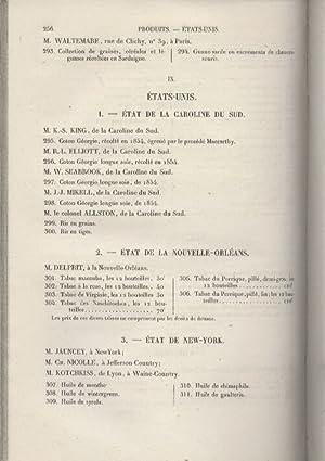 Catalogue des Animaux, Machines, Instruments et Produits: Concours Agricole Universel de 1856