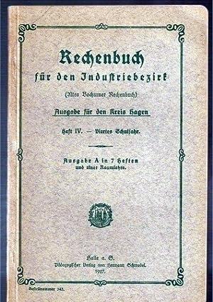 Ausgabe für den Kreis Hagen, Heft IV: Rechenbuch für den