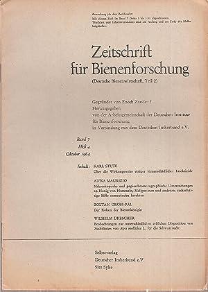 Band 7 Heft 4 Oktober 1964