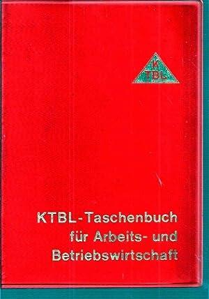 KTBL-Taschenbuch für Arbeits- und Betriebswirtschaft: Lückner,Heinrich+Friedrich Trophagen