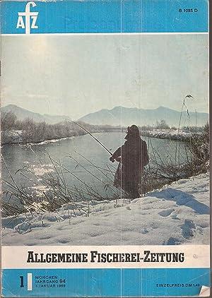 Jahrgang 1969.Hefte 1,2 und 3: Fischereizeitung,Allgemeine