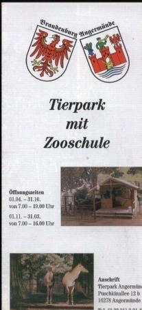 Tierpark mit Zooschule: Angermünde-Zoo