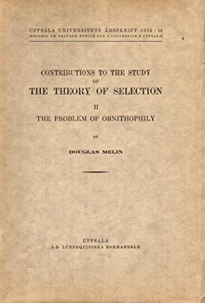 Contributions to the study of the theory of selection II the problem