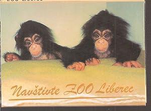 Leporello-Album,Format:10,5x7,5cm mit 8 Farbfotos.: Zoo Liberec