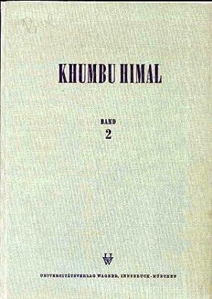 Khumbu Himal Zweiter Band (Beiträge zur Ökologie: Hellmich,Walter