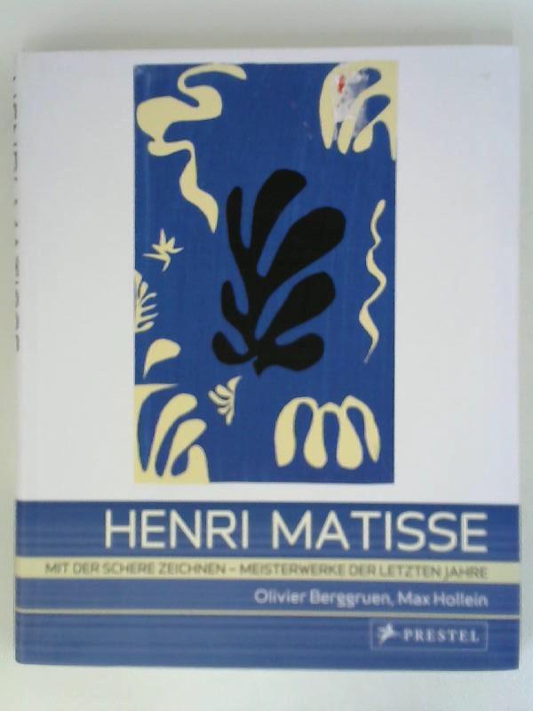Art Flexo Matisse: Mit der Schere zeichnen: Berggruen, Olivier [Hrsg.],