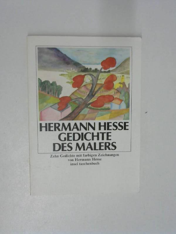 Gedichte des Malers: Zehn Gedichte mit farbigen: Hesse, Hermann und