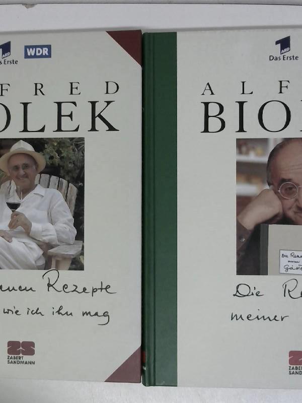 Alfred biolek die rezepte von biolek zvab for Kochen mit biolek