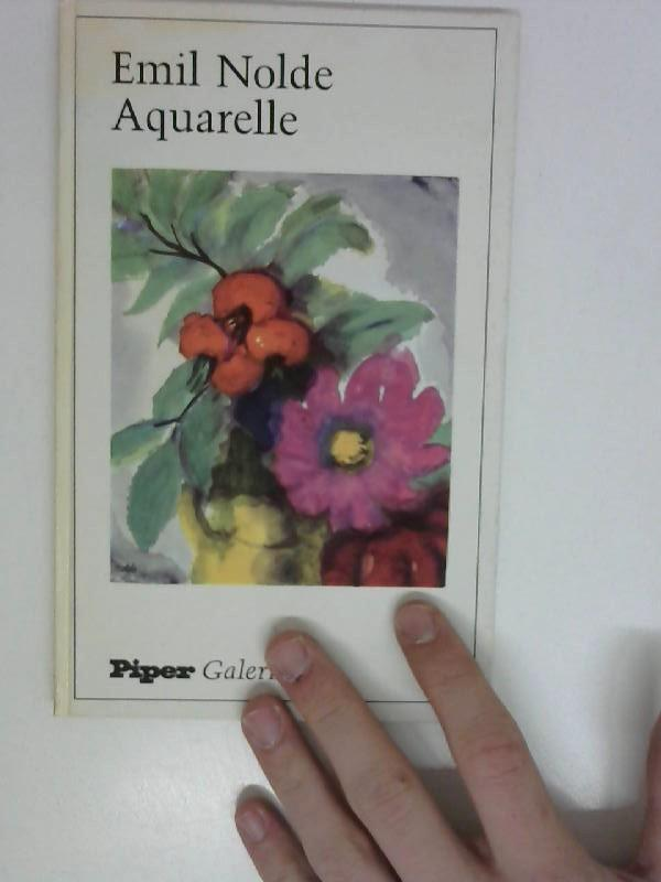 Aquarelle: Nolde, Emil.: