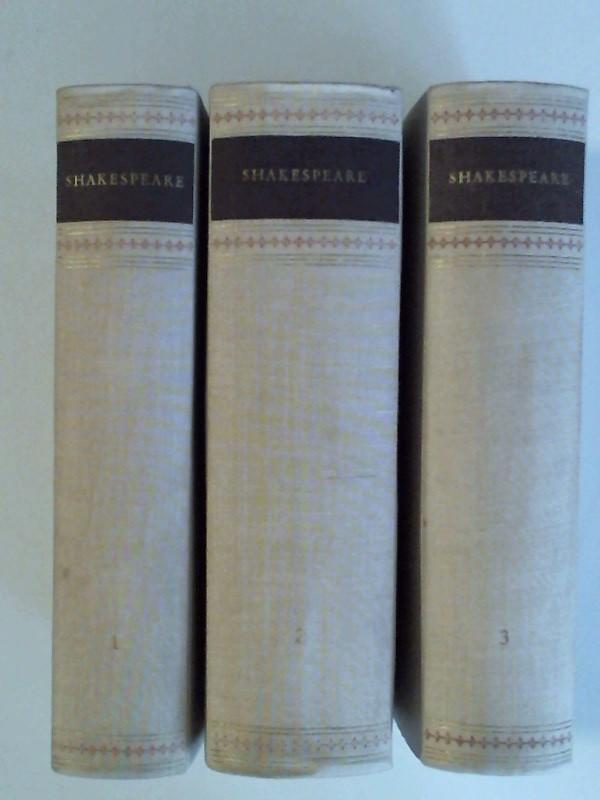3 Bände, Band 1: Historien, Band 2: Shakespeare: