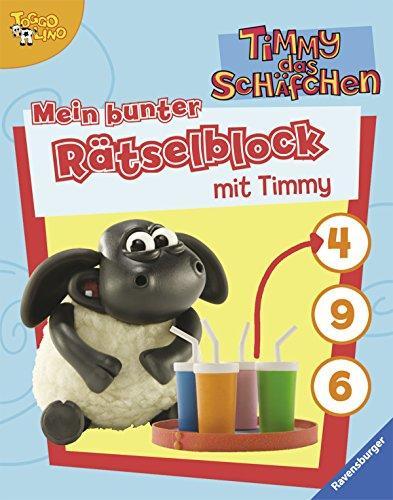 Mein bunter Rätselblock mit Timmy