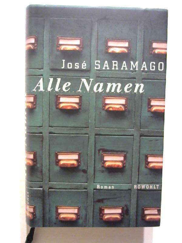 Alle Namen.: Saramago, Jose: