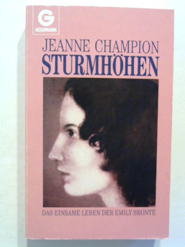 Sturmhöhen. - Champion, Jeanne