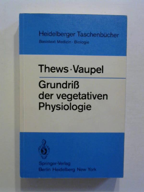 vegetative physiologie vaupel peter thews gerhard
