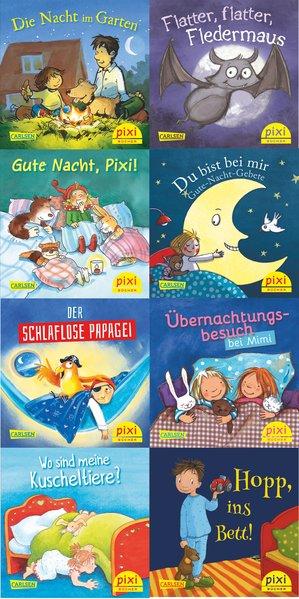 Pixi-Box 233: Pixi wünscht Gute Nacht (8: Frisque, Anne-Marie (Verfasser