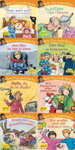 Pixi-Box 176: Rolfs Pixi-Liederbücher (8 von Simone: Nettingsmeier, Simone (Mitwirkender),
