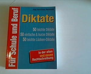 diktate für schule und beruf. 50 leichte diktate, 50 einfache & kurze diktate, 50 leichte ...