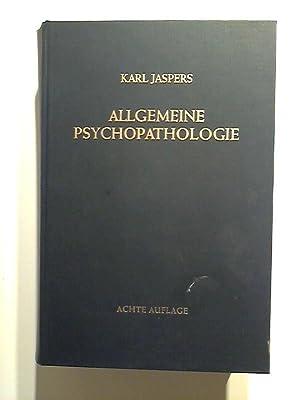 Allgemeine Psychopathologie: Jaspers, Karl: