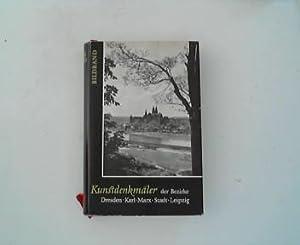 Kunstdenkmäler der Bezirke Dresden, Karl-Marx-Sadt, Leipzig. Bildband.: Badstübner Becker und