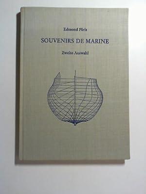 Souvenirs de Marine - Zweite Auswahl / Zssgest. und hrsg. von Ernest Henriot: Paris, Edmond: