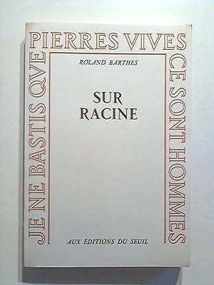 Sur Racine: Barthes, Roland: