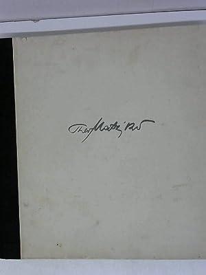 Das Theo Matejko Buch. Zeichnungen als Aufzeichnungen aus zweieinhalb Jahrzehnten.: unbekannt: