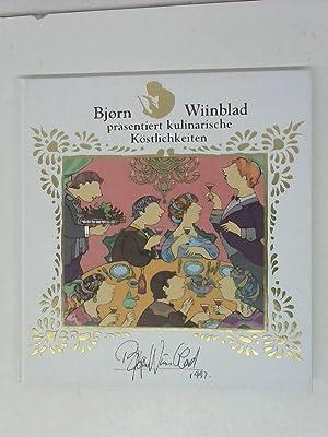 Björn Wiinblad präsentiert kulinarische Köstlichkeiten: Wiinblad, Björn: