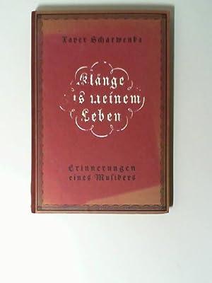 Klänge aus meinem Leben.: Scharwenka, Xaver: