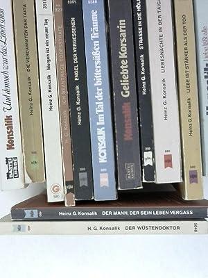 Kleines Konvolut mit 14 Romanen und zwar: Konsalik: