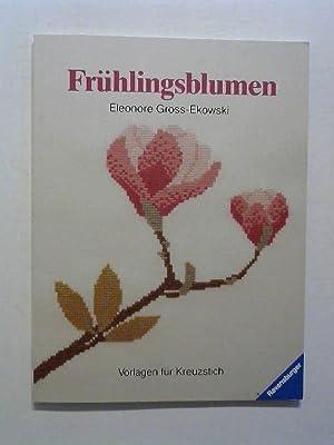 Frühlingsblumen: Vorlagen für Kreuzstich.: Gross-Ekowski, Eleonore: