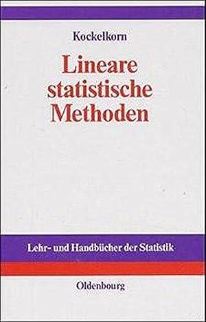 Lineare statistische Methoden.: Ulrich, Kockelkorn: