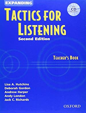 Expanding Tactics for Listening - Teacher's Book,